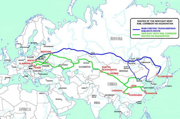"""Русија би могла постати један од главних карика пројекта """"Нови пут свиле"""""""