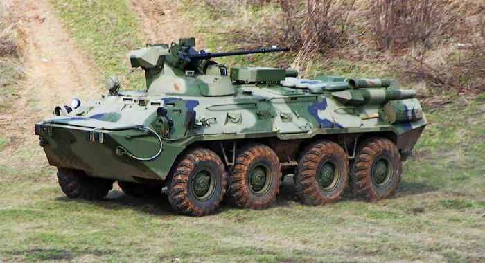 Нови транспортери за руску армију