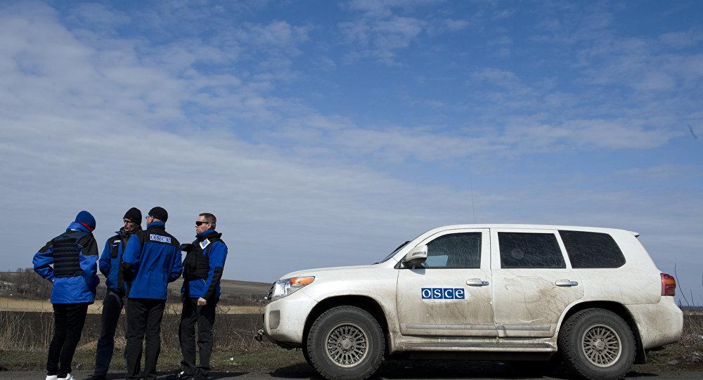 ОЕБС саопштио да се наставља сукоб у Донбасу упркос прмирју