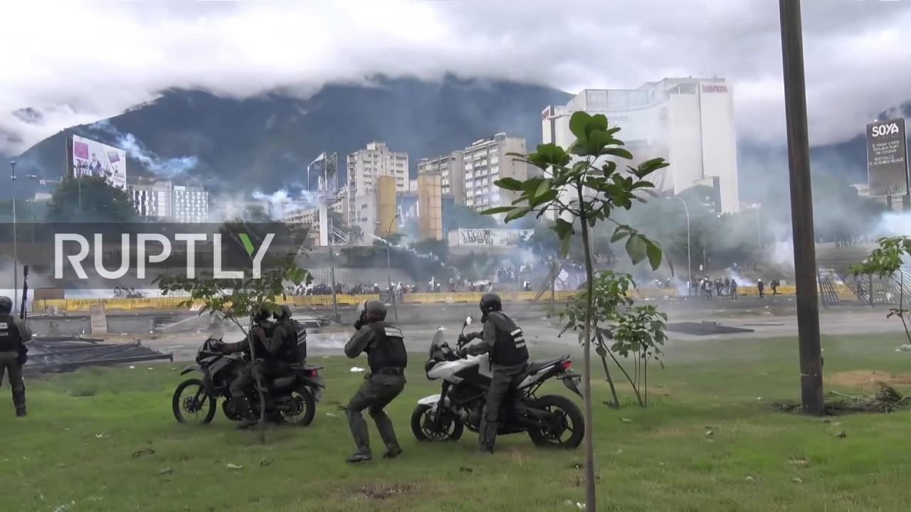 Сукоби полиције и демонсраната у Венецуели