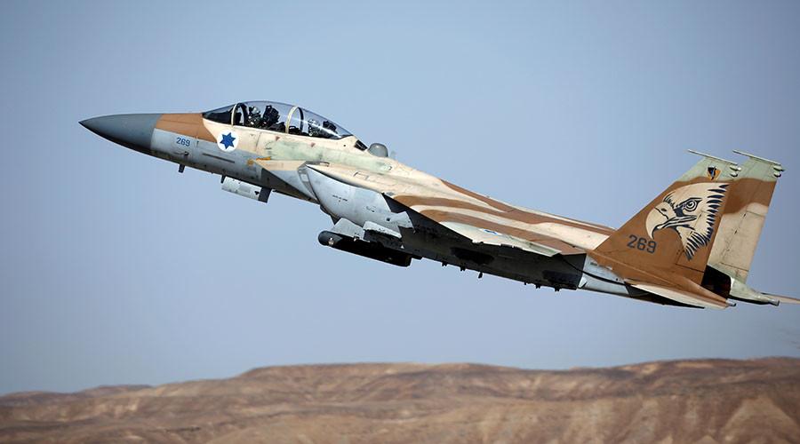 Израелски авиони напали положаје сиријске војске