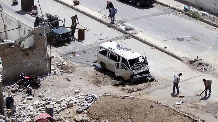 Најмање 20 особа убијено у бомбашком нападу аутомобилом у Дамаску
