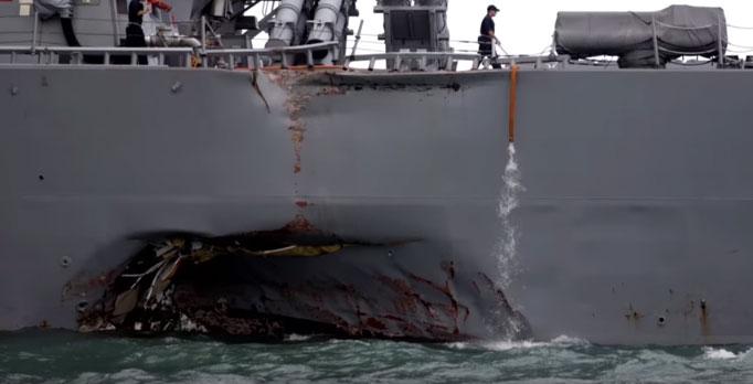 Mорнарица САД обуставља операције широм света због учесталих судара