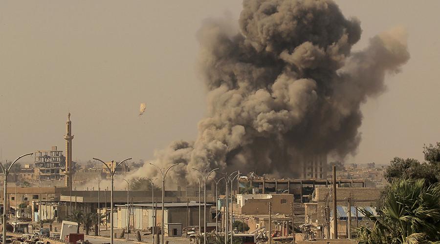 РТ: УН позвале коалицију САД да хитно заустави нападе како би се спасили цивили у Раки