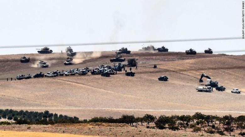 Турске снаге ушле у сиријску провинцију Идлиб