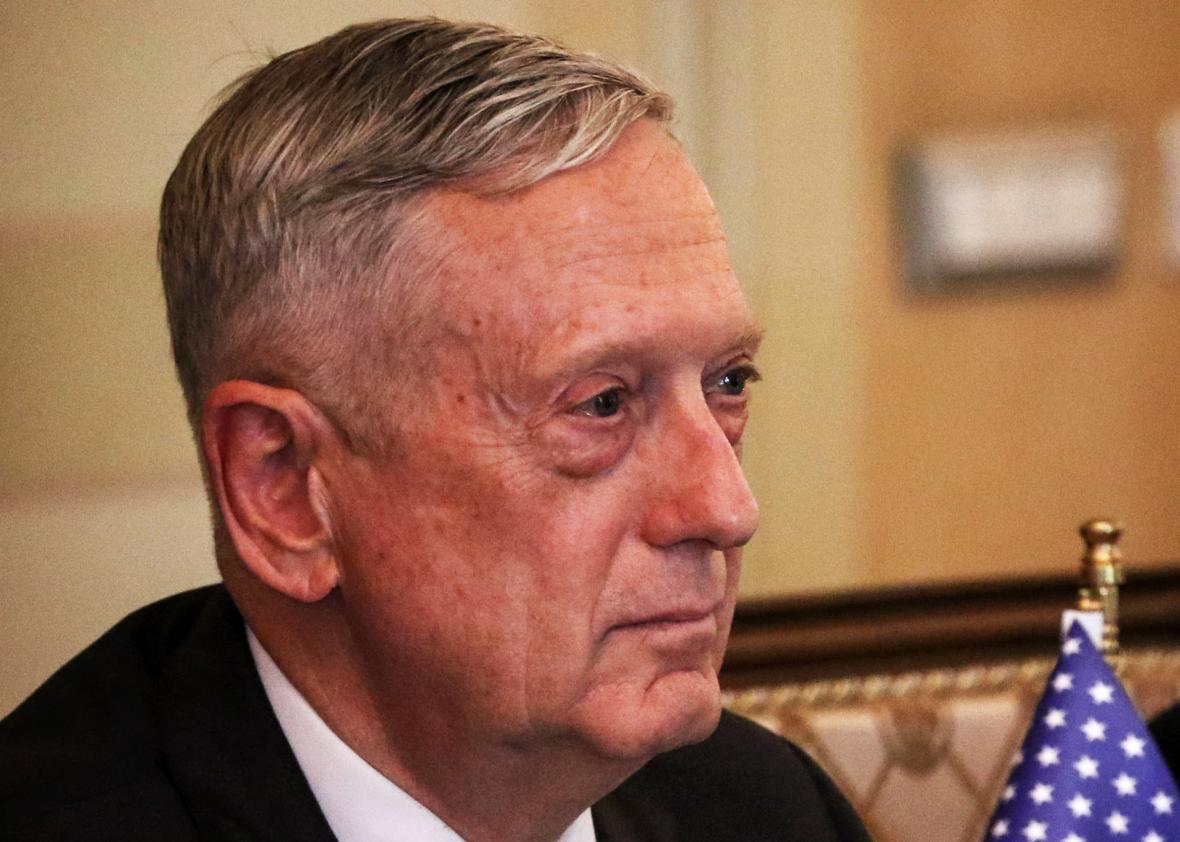 Матис: УН су дозволиле САД-у да уђе на територију Сирије