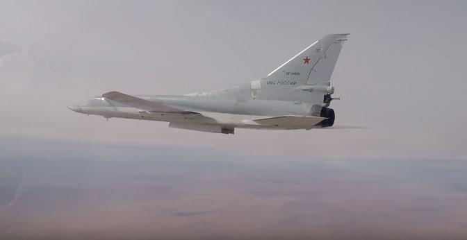Стратешки бомбардери Ту-22М3 нанели ударе по терористима у Сирији