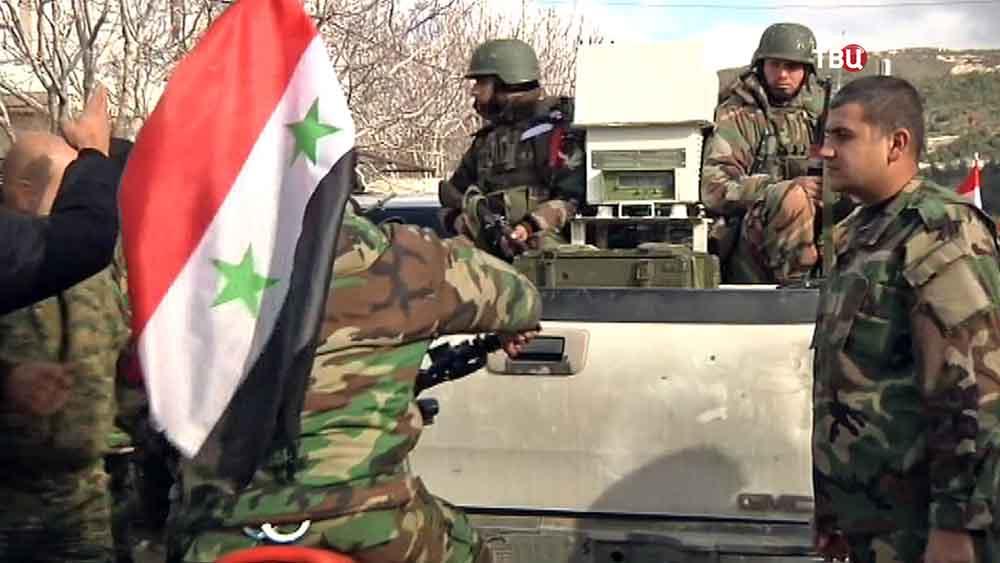 Сиријска војска наставља чишћењем територије