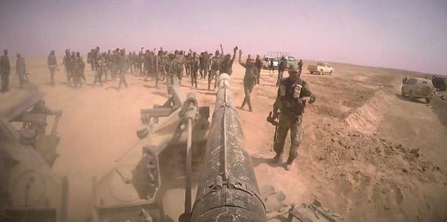Сиријска војска наставља са чишћењем територија од терориста