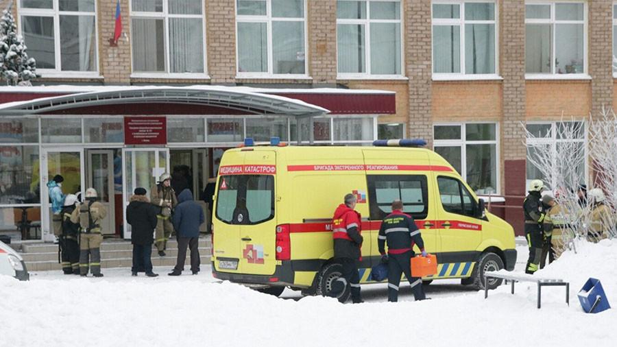 Повређено 12 ученика у нападу у школи у Перму