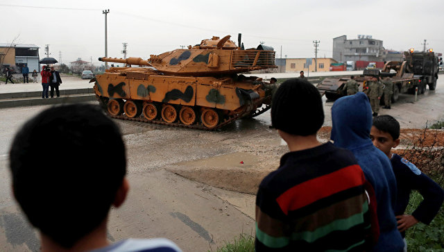 Турска повећала борбену готовост на граници са Сиријом