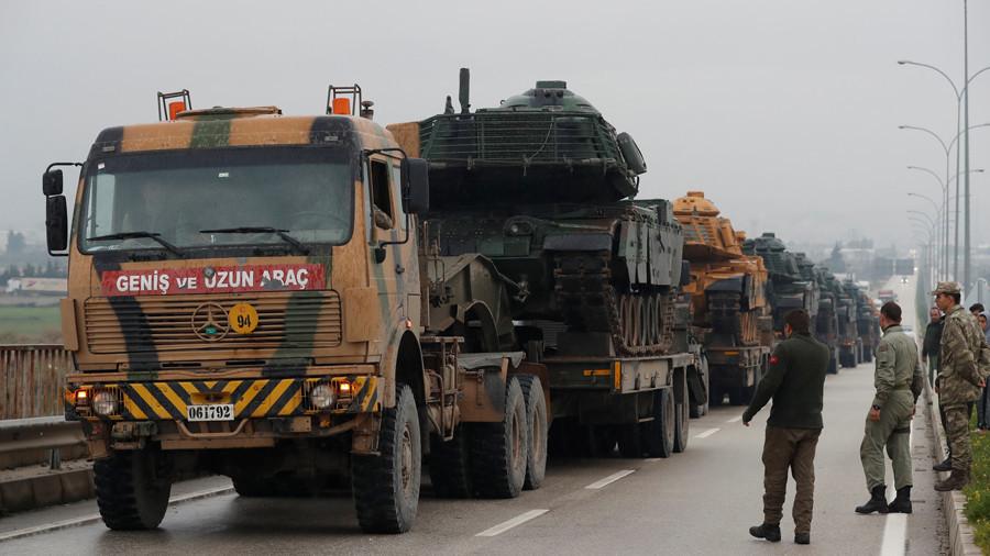 """РТ: Анкара """"нема другу опцију"""" него да нападне сиријске Курде у Афрну - почело гранатирање"""