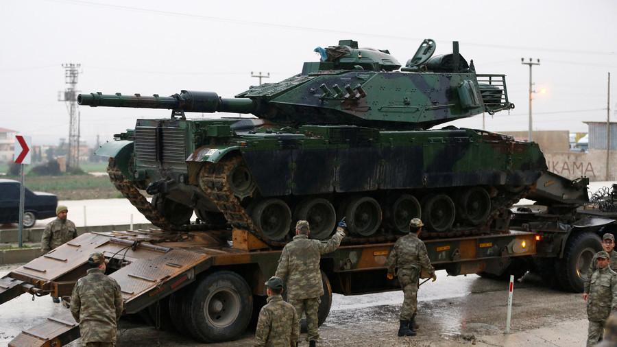 РТ - Копнена фаза напада на Африн почиње у недељу - Анкара