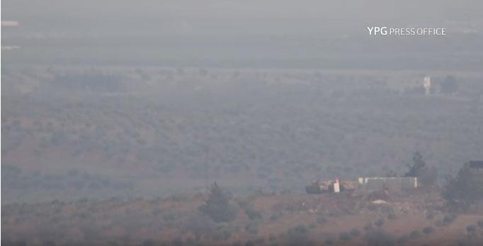 Kurdski borci unuštili pet turskih tenkova u Siriji