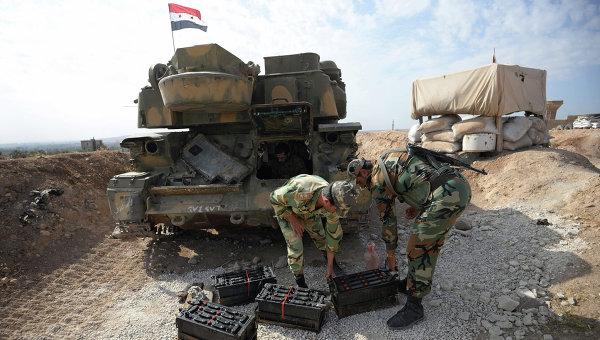 Сиријска војска наставља са уништавањем терориста