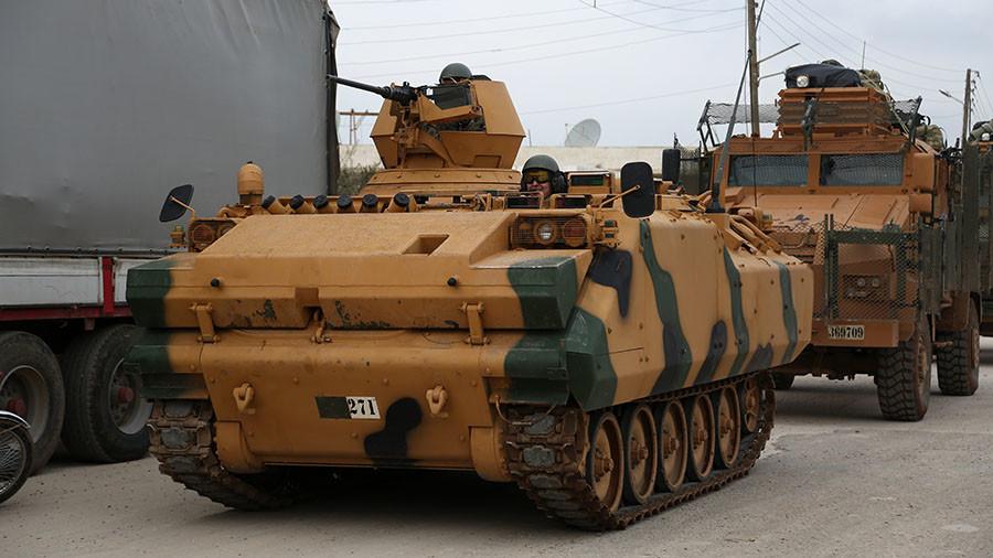 РТ: Турска војска проширила операцију у Сирији на округ Азаз