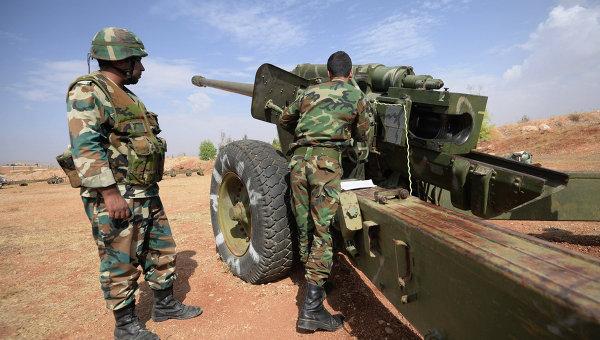 Сиријска војска наставља са уништавањем територија