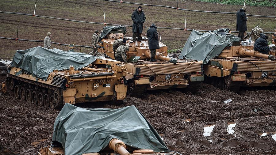 Турска саопштила о стотинама ликвидираних Курда у сиријској регији Африн