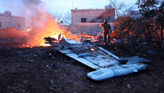 Оборен руски авион у Сирији