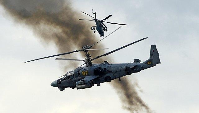 """Министарство одбране Русије ће купити 114 хеликоптера Ка-52 """"Алигатор"""""""