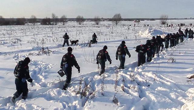 На месту пада авиона Ан-148 пронађено више од двеста остатака тела