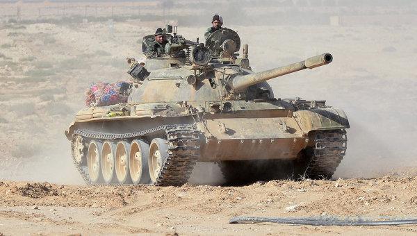 Коалиција САД: Уништен сиријски тенк