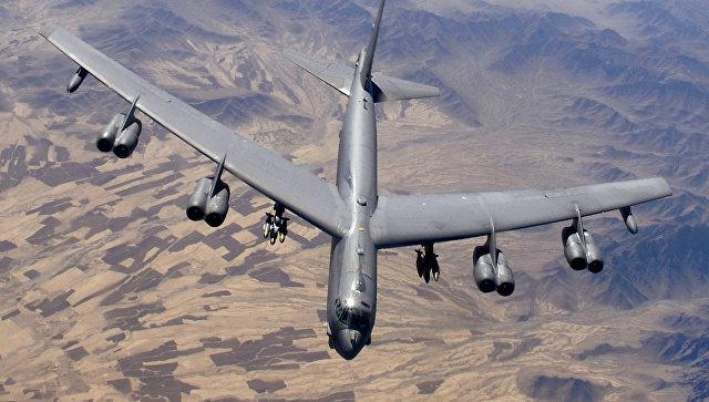 Коалиција САД користила бомбардере Б-52 за нападе на сиријске снаге