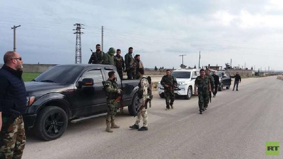 РТ: Провладине сиријске снаге почеле да улазе у Африн упркос турским претњама - сиријска ТВ