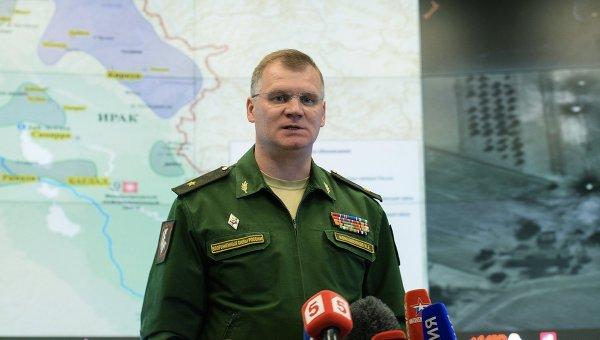 Конашенков: Представници УН у Дамаску нису пронашли доказе о употреби хемијског оружја од стране сиријске војске