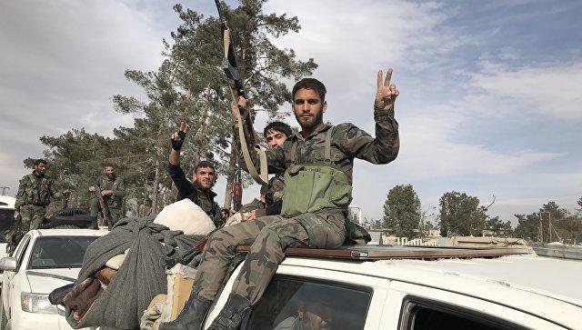 Сиријске снаге преузеле контролу над насељем Хамуриа у Источној Гути