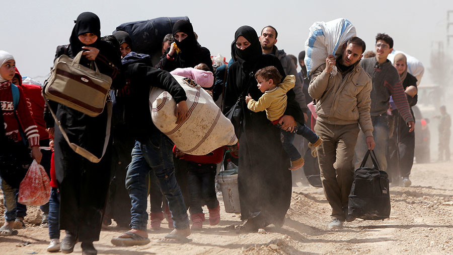 РТ: Хиљаде цивила евакуисано из Источне Гуте