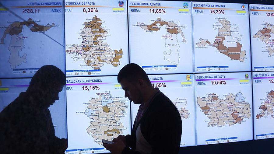 РТ: Сајбер напад на ЦИК Русије