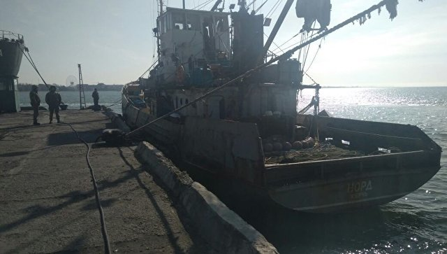 """У Азовском мору оформљена оперативна група за борбу против """"пиратства Украјине"""""""