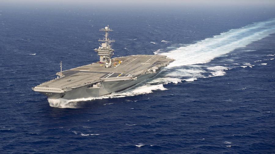РТ: САД распоређују носач авиона и групу борбених бродова на Блиски исток