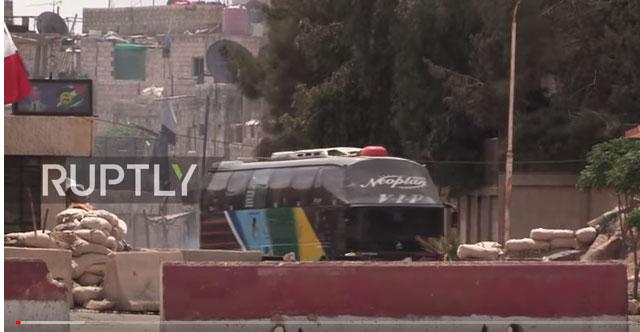 Друга група милитаната се припрема да напусти сиријску Думу