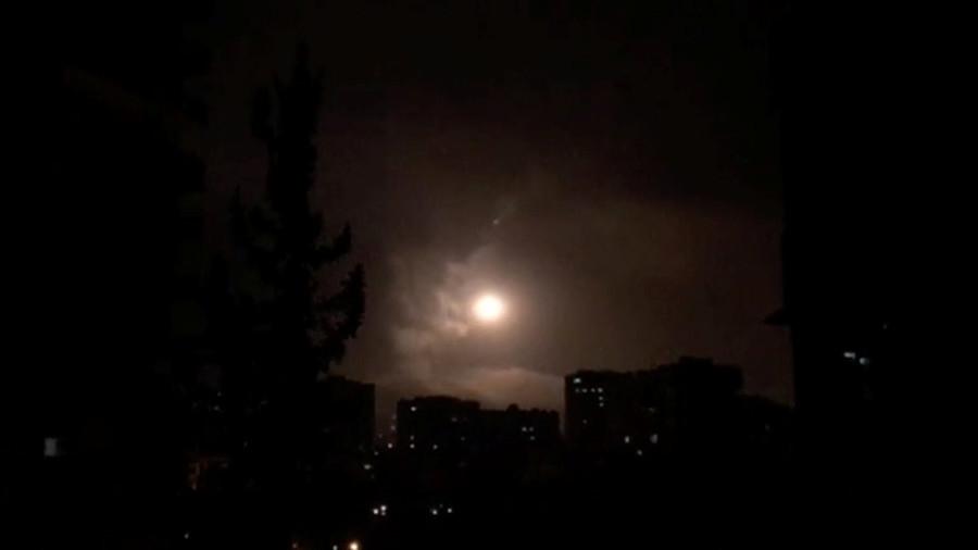 РТ: Дејство сиријске ПВО по ракетама