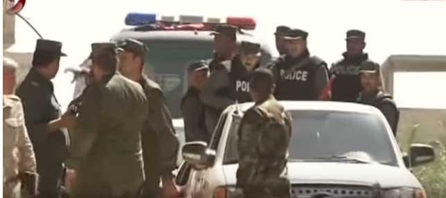 Сиријска полиција у Думи