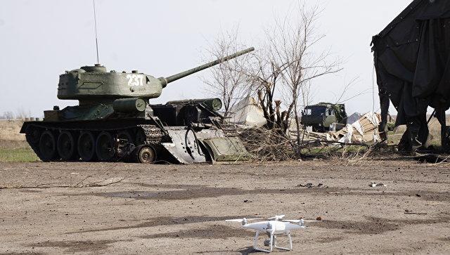Кијевске снаге гађале технику Војске ЛНР припремљене за Параду победе