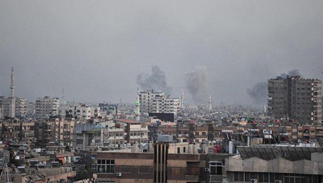 Сиријска авијација дејствује по терористима јужно од Дамаска