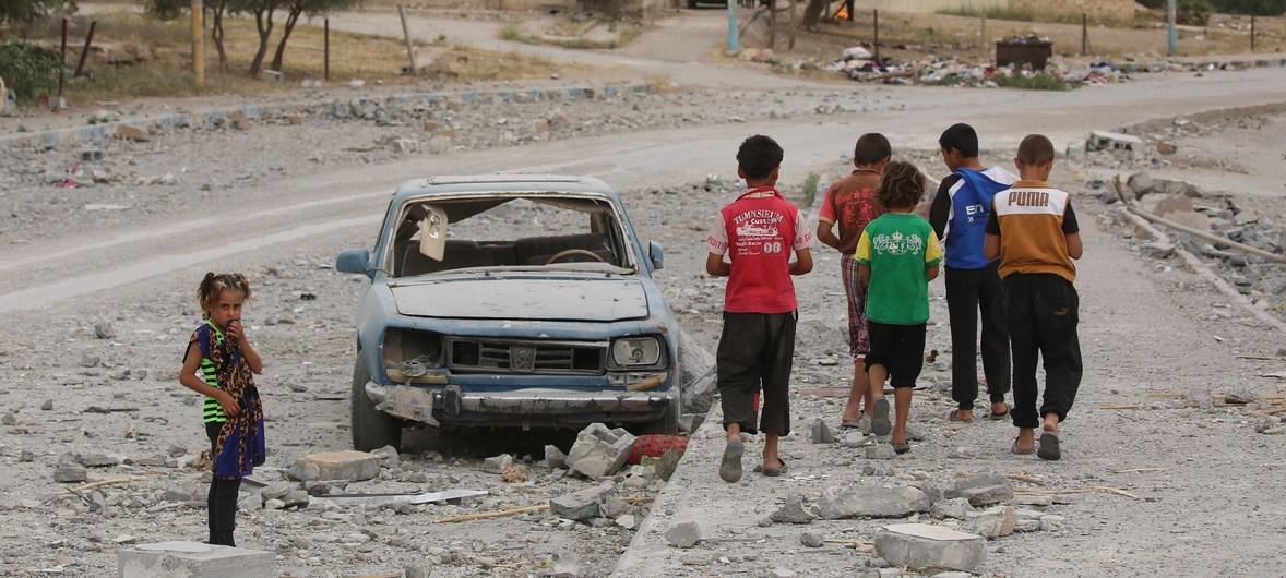 УН: Цивили не могу да побегну од сукоба и бомбардовања у Сирији