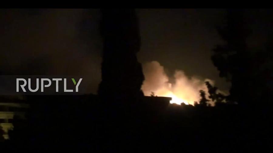 РТ: Ракетни напад на Сирију