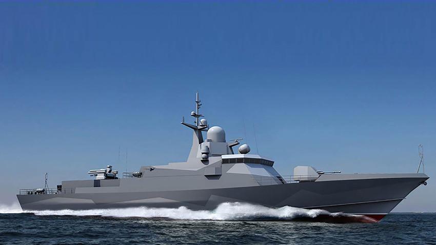 """Брод """"Шквал"""" са ракетама """"Калибар"""" биће поринут у Санкт Петербургу"""