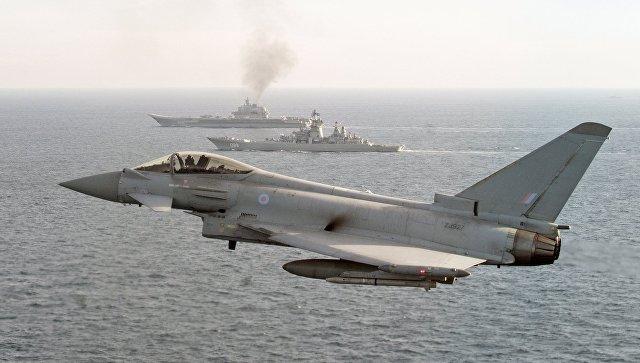 """Британски изнад Црног мора ради борбе против """"потенцијалне агресије"""""""