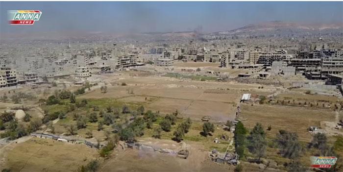 Ексклузивна ратна репортажа борбених дејстава Војске Сирије