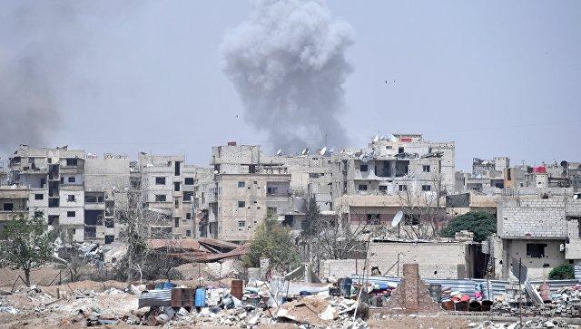 Ирачке снаге бомбардовале терористе у Сирији