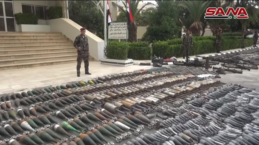 РТ: Израелско оружје међу преданим оружјем од стране милитаната у Дамаску
