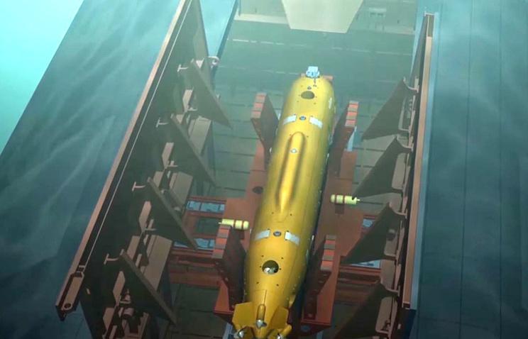 """Руска морнарица добија подводне дронове """"Посејдон"""" до 2027."""