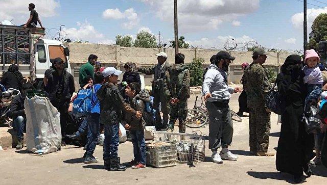 Зону деескалације Хомс напустило 1.866 милитаната