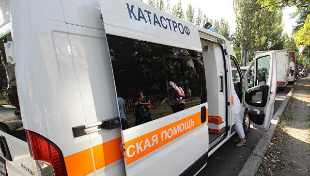 Експлозија у аутобусу у Дебаљцеву