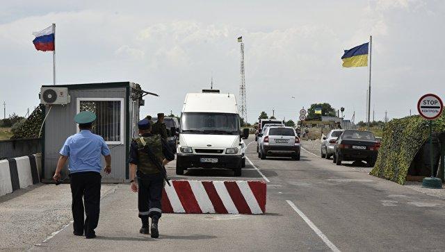 """У Кијеву саопштили о """"губитку знакова државне контроле"""" региона који се граниче са Кримом"""